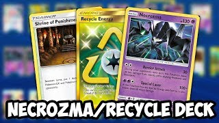 Infinite Energy Necrozma/Recycle Energy Deck! New Way To Play Malamar! Unified Minds PTCGO