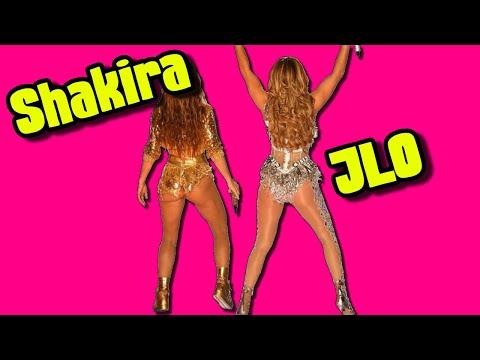 (1 Min Of Booty Shaking) Halftime Show Shakira & J. Lo's Pepsi Super Bowl LIV JLo