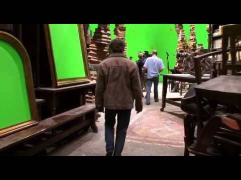 Draco Malfoy/Tom Felton [Behind the Scenes] - Harry Potter and the Deathly Hallows