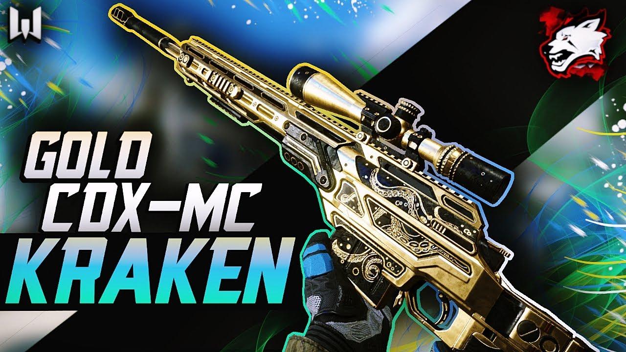 Warface GOLD CDX-MC Kraken - 2nd best sniper!