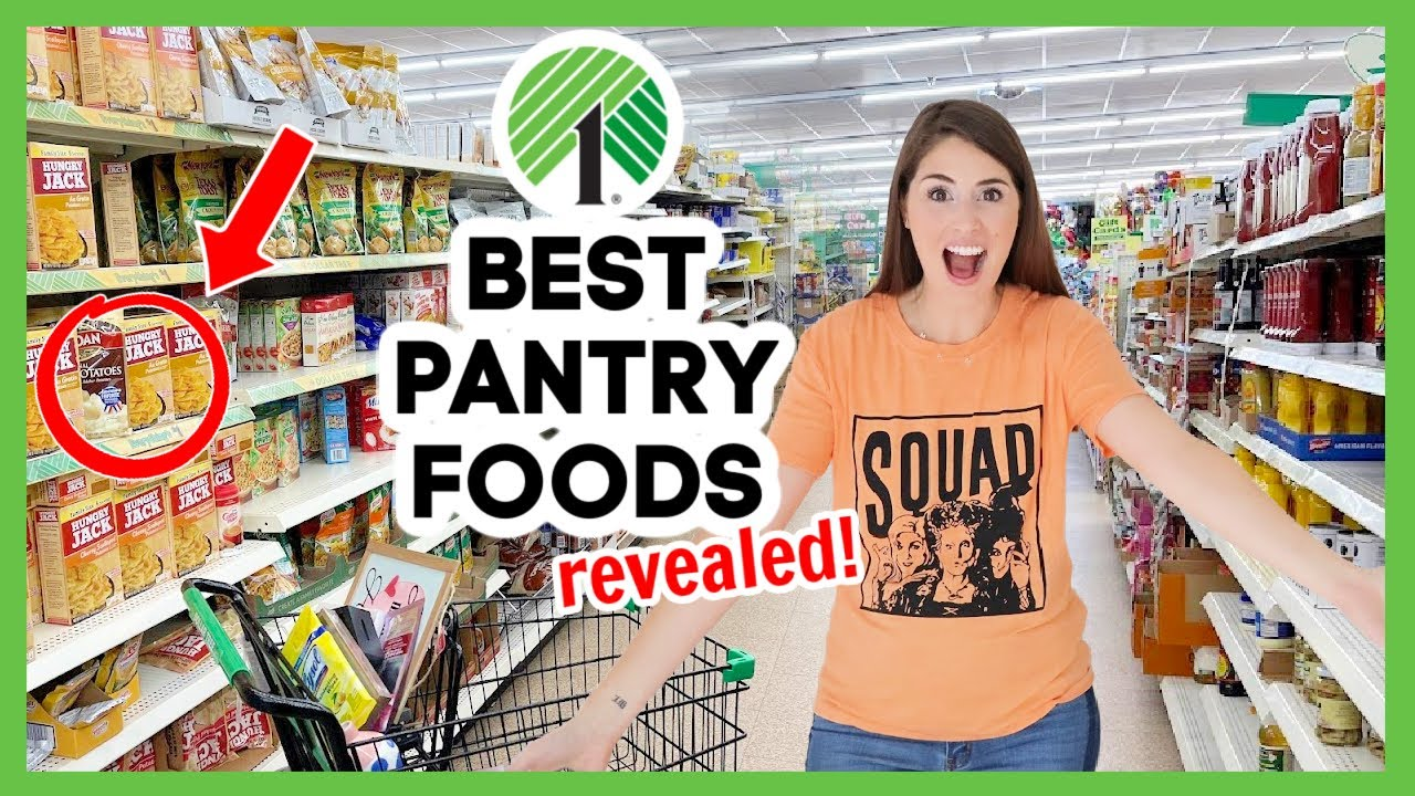 Best Dollar Tree Foods REVEALED 💚 Which Dollar Tree pantry foods are worth it, and which to avoid?