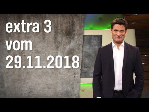 Extra 3 vom 29.11.2018 | extra 3 | NDR