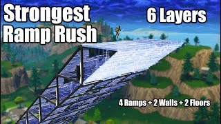 6 Layer Ramp Rush (Tutorial) - Fortnite Battle Royale