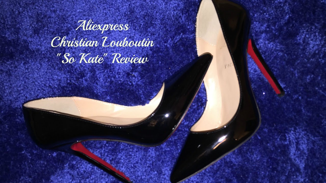 aliexpress louboutin shoes review