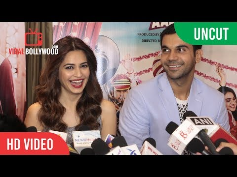 UNCUT - Shaadi Mein Zaroor Aana Cast Group Interview | Rajkummar Rao | Kriti Kharbanda