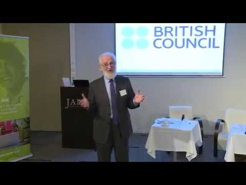 David Crystal's talk at IELTS Conference 'The Future of English', Prague 2014 (British Council)