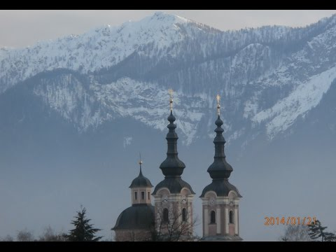 The beautiful city of Villach in Austria