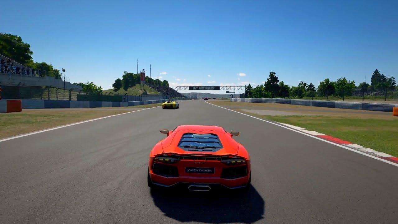 Gran Turismo Sport Lamborghini Aventador Racing - YouTube
