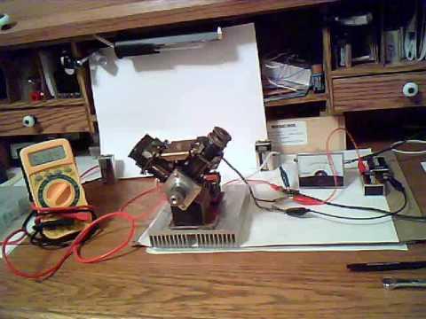 Electric 4 Piston Engine