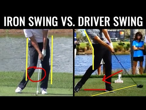 ⛳️[GOLF] Iron Swing Vs. Driver Swing (AVOID THESE MISTAKES!)