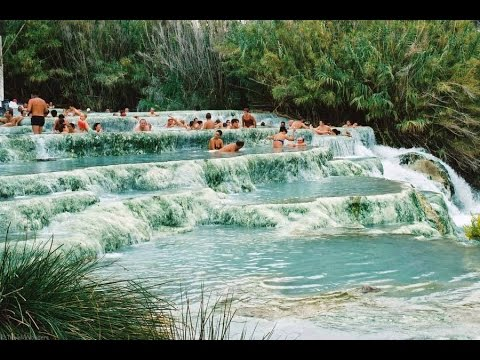 Jacuzzi Naturales.The Natural Jacuzzi In Saturnia Italy
