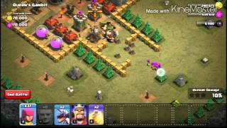 CLASH OF CLANS | SINGLE PLAYER MAPS | MAP #32 | Queen's Gambit