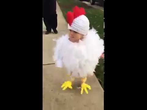 Cute baby in duck costume & Cute baby in duck costume - YouTube