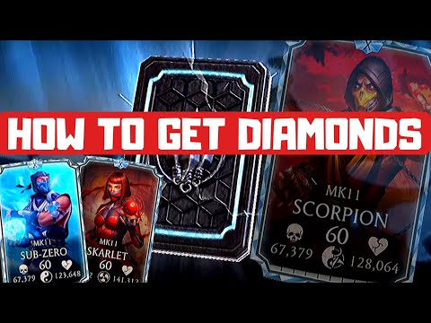 MK Mobile: How to get DIAMONDS?
