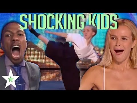 MOST SHOCKING KID AUDITIONS On Got Talent Worldwide! | Kids Talent Global