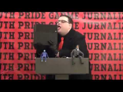 Jim Sterling Licking a PS4 for 10 Hours