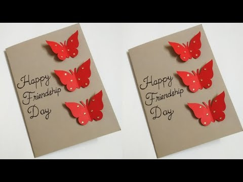 Friendship Day Card Easy | Friendship Day Card 2019 | Greeting Card Making