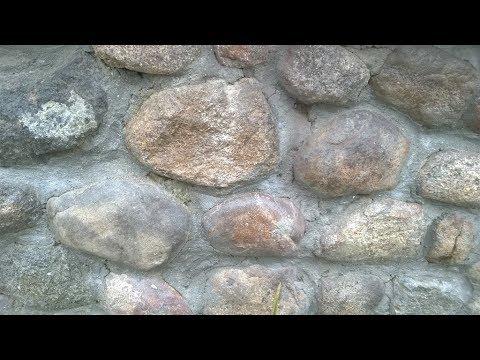 Стены из мергеля: что это такое, и как их отделывать