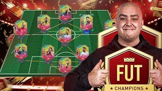 USING A FULL CARNIBALL TEAM IN FUT CHAMPIONS! | FIFA 19 ULTIMATE TEAM