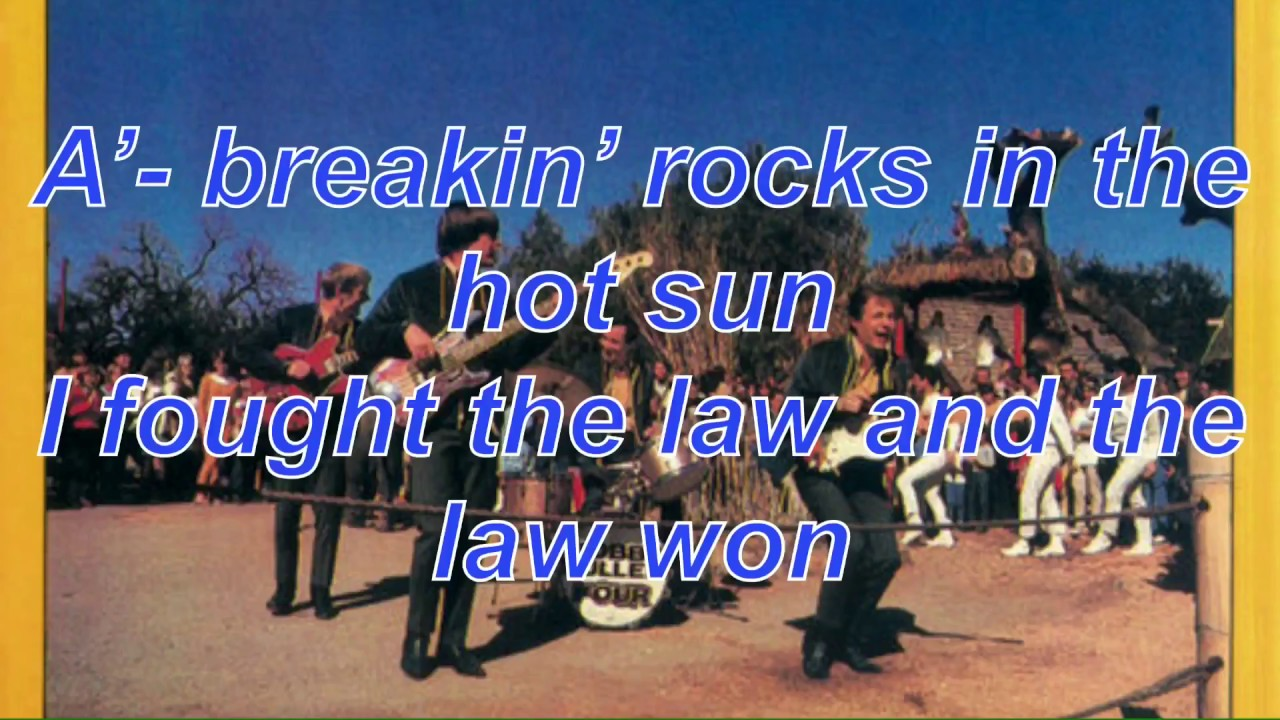 I Fought The Law (And the law won) - The Bobby Fuller Four ...