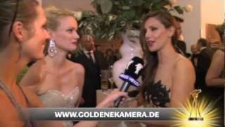 Interview mit Franziska Knuppe und Nazan Eckes - Goldene Kamera 2012