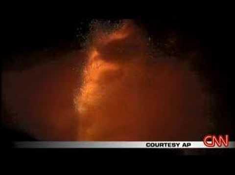Mount Etna Eruption Sept 2007 CNN
