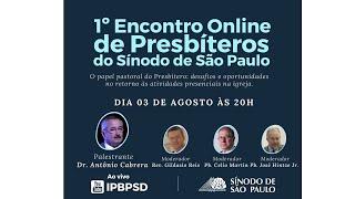 ENCONTRO ONLINE PARA PRESBÍTEROS SSP