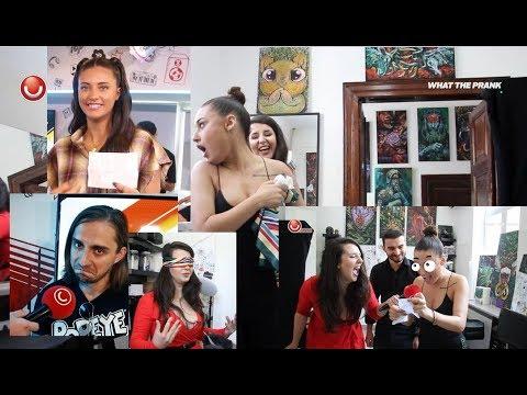 Ne-am facut tatuajele alese de ei... LEGATE LA OCHI!   WHAT THE PRANK - EP. 3 @UTV 2019