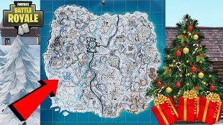 *BREAKING NEWS* CHRISTMAS UPDATE IN FORTNITE IS HERE! FULL SNOW MAP & CHRISTMAS GIFTS!