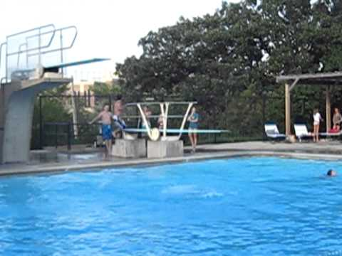 Flip Off The High Dive Edina Swimming Pool Youtube