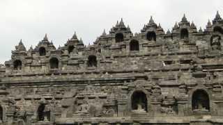 お世話になりました 井上順 Borobudur & Denah Lokasi.