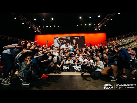 Break The Floor 2016 | Final Battle Jinjo VS Hustle Kidz