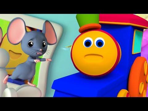 Bob der Zug | Hickory Dickory Dock | Kinderreime | Bob Train | Mouse Rhyme | Hickory Dickory Song