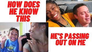 THE SHOCKING THINGS THAT COMES OUT OF HIS MOUTH | FAMILY VLOG | BABE ALMOST PASS OUT ON ME screenshot 1