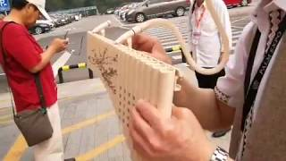 Pan Flute Left Hand 22 Pipes High Quality Musical Instrument