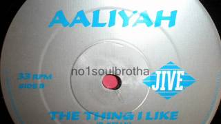 "Aaliyah ft. R. Kelly ""The Thing I Like"" (E² Summer Remix)"