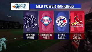 McCombs Ford West MLB Power Rankings: Week 4 on Sports2Nite