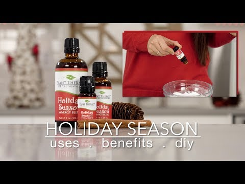 Holiday Season Synergy Blend: Best Uses + Quick How To