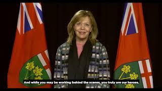 #MedLabThx: Hon. Christine Elliott - Deputy Premier, Minister of Health