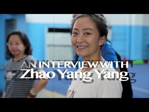 ZHAO YANG YANG wushu coach Henan Woman Team
