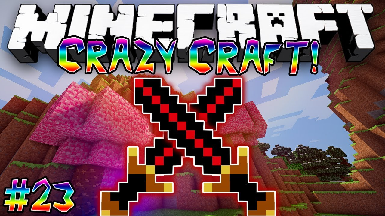 crazy craft free quot big berthas quot craft minecraft modded 1788