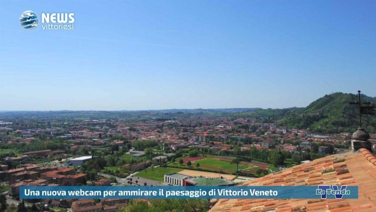 News vittoriesi - Una nuova webcam per ammirare il panorama di Vittorio Veneto