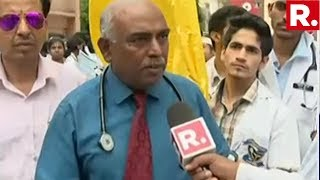 WATCH: Doctors Protest Outside BMCH Hospital In Bengaluru | #DoctorsFightBack