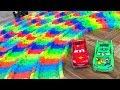 Mr. Joe Built Spiral Road on Magic Track! NEW Magic Cars for Kids!
