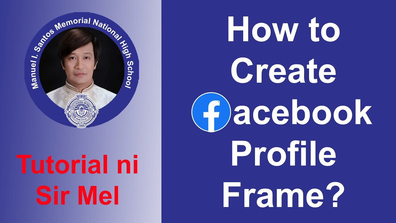 How to Create Facebook Profile Frame - YouTube