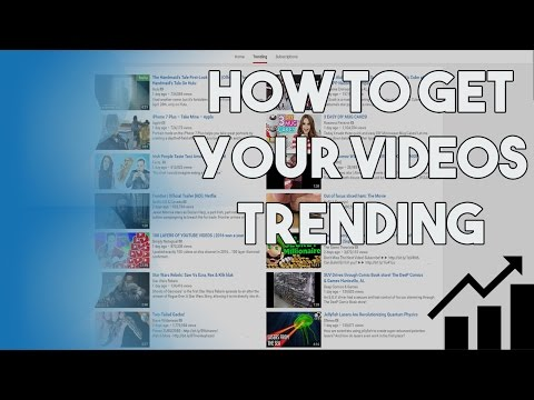 How To Get Your Video TRENDING On Youtube's Trending Page