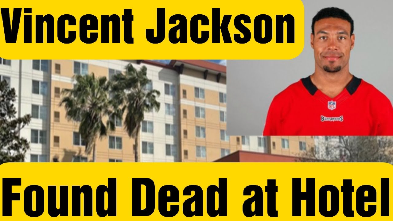 Vincent Jackson Found Dead at Hotel