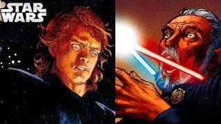 Why Anakin Beheading Dooku Was So Forbidden - Star Wars Explained