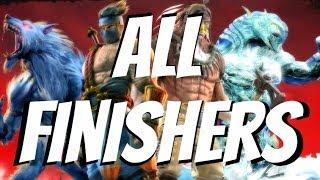 Killer Instinct: All Finishers (2014) Season 1