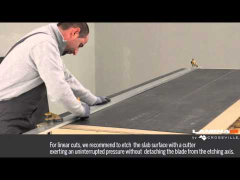 Laminam by Crossville Cutting and Drilling